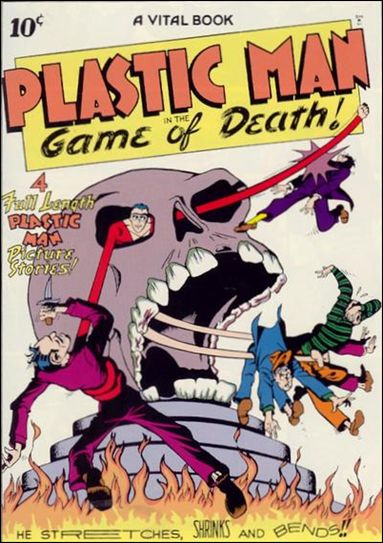 Plastic Man (1943) 1-A by Comic Magazines