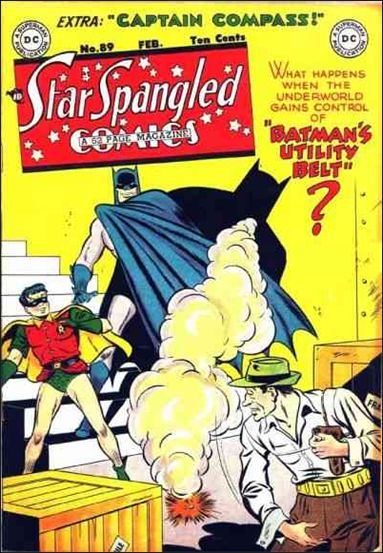 Star Spangled Comics (1941) 89-A by DC