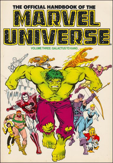 Official Handbook of the Marvel Universe 3-C by Marvel