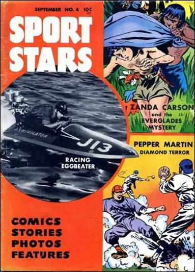 Sport Stars (1946) 4-A by Parents' Magazine Institute