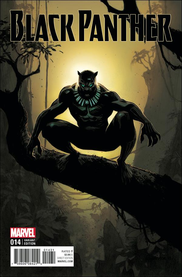new arrival fbc87 6ebec Black Panther 14 C, Jul 2017 Comic Book by Marvel