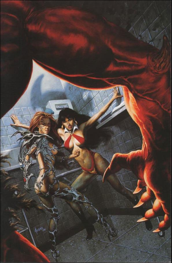 Vampirella/Witchblade: Union of the Damned 1-D by Harris
