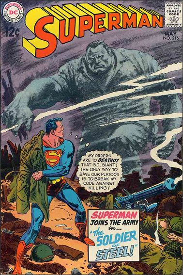 Superman (1939) 216-A by DC