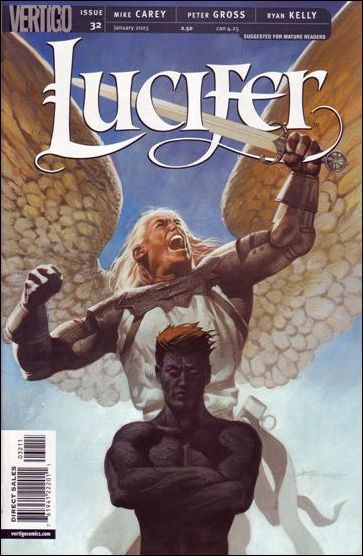Lucifer (2000) 32-A by Vertigo