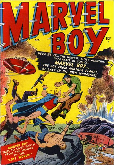 Marvel Boy (1950) 1-A by Atlas