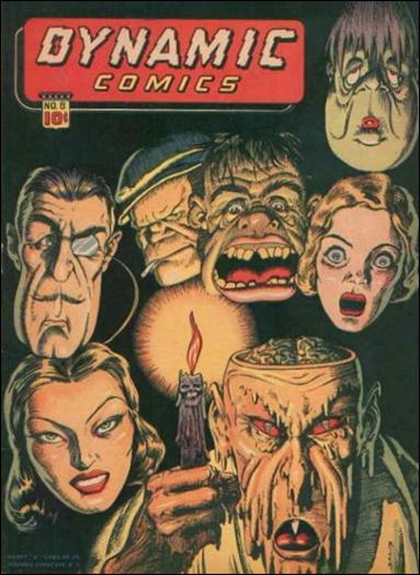 Dynamic Comics (1941) 8-A by Harry A. Chesler