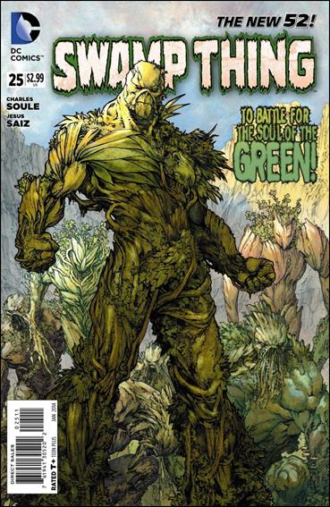 Swamp Thing (2011) 25-A by DC