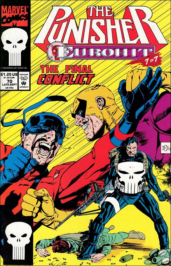 Punisher (1987) 70-A by Marvel