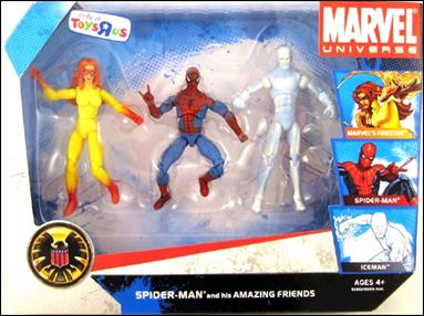 Marvel Universe (3-Packs) Spider-Man and his Amazing Friends by Hasbro