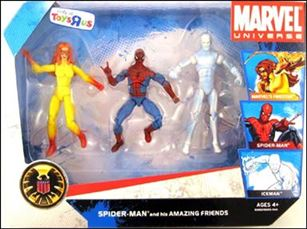 Marvel Universe (3-Packs) Spider-Man and his Amazing Friends