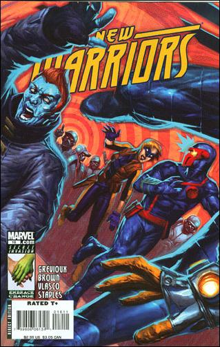 New Warriors (2007) 16-A by Marvel