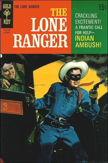 Lone Ranger (1964) 15-A by Gold Key