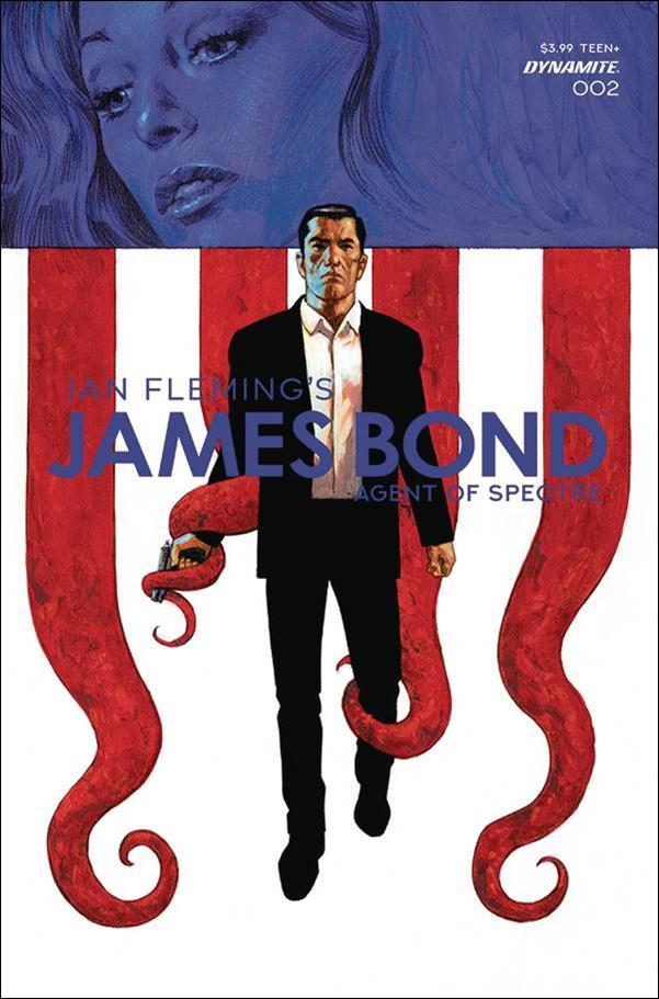 James Bond: Agent of Spectre 2-A by Dynamite Entertainment