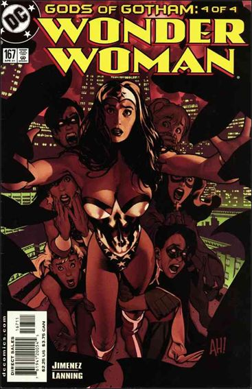 Wonder Woman (1987) 167-A by DC