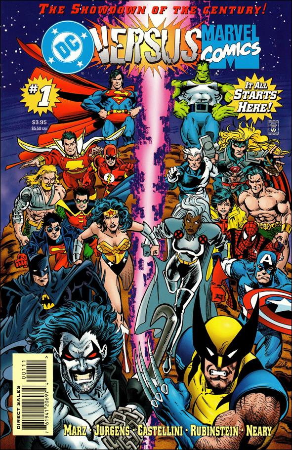 DC Versus Marvel/Marvel Versus DC 1-A by DC