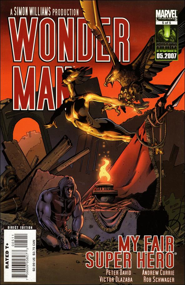 Wonder Man (2007) 5-A by Marvel