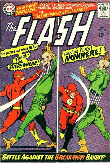 Flash (1959) 158-A by DC