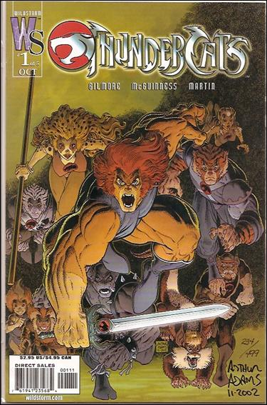 ThunderCats (2002) 1-C by WildStorm