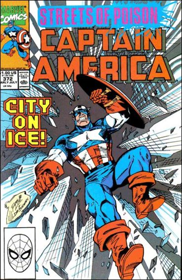 Captain America (1968) 372-A by Marvel