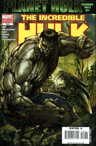 Incredible Hulk (2000)  100-C by Marvel