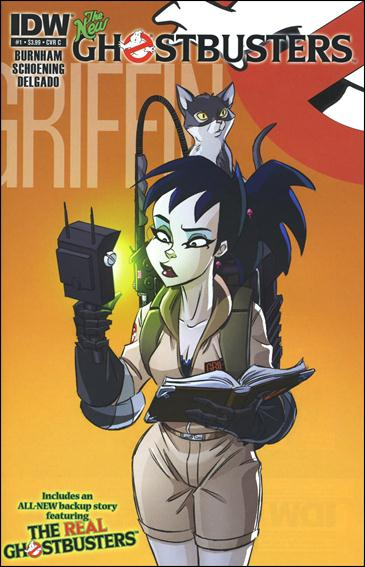 Ghostbusters (2013) 1-C by IDW