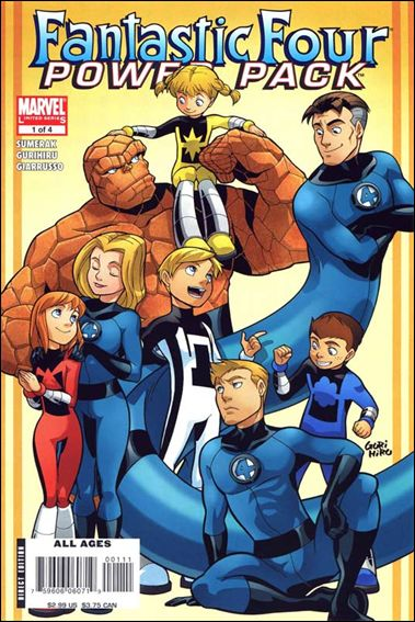 Fantastic Four and Power Pack 1-A by Marvel