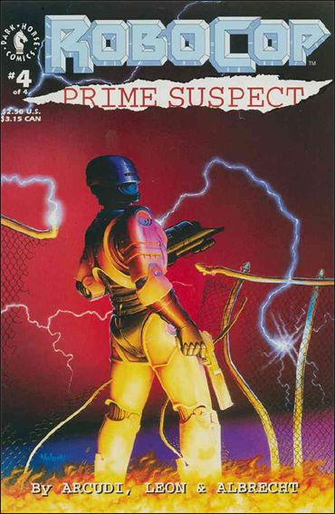 RoboCop: Prime Suspect 4-A by Dark Horse