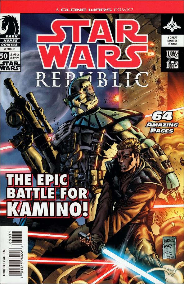 Star Wars/Star Wars Republic 50-A by Dark Horse