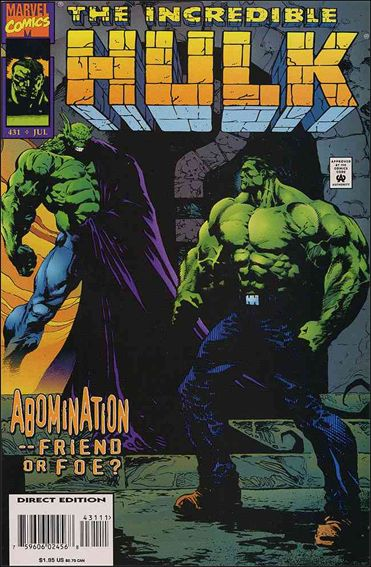 Incredible Hulk (1968) 431-A by Marvel