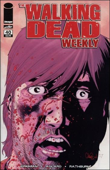 Walking Dead Weekly 40-A by Image
