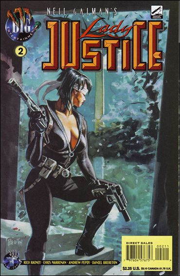Neil Gaiman's Lady Justice (1996) 2-A by BIG Entertainment