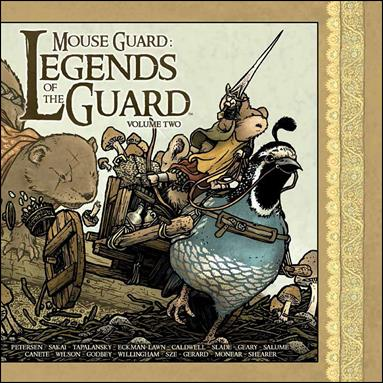 Mouse Guard: Legends of the Guard 2-A by Archaia