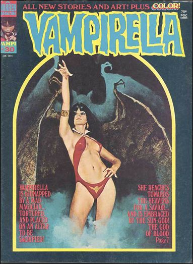 Vampirella 30-A by Warren