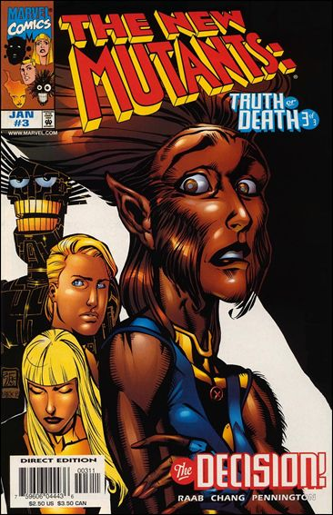 New Mutants: Truth or Death 3-A by Marvel