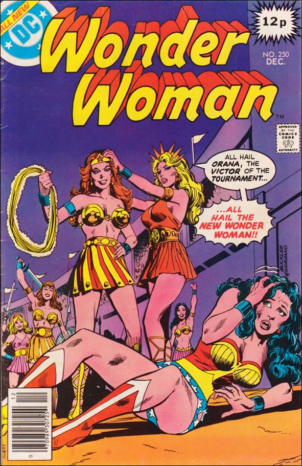 Wonder Woman (1942) 250-C by DC