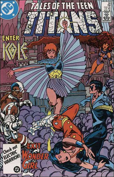 Tales of the Teen Titans 68-A by DC