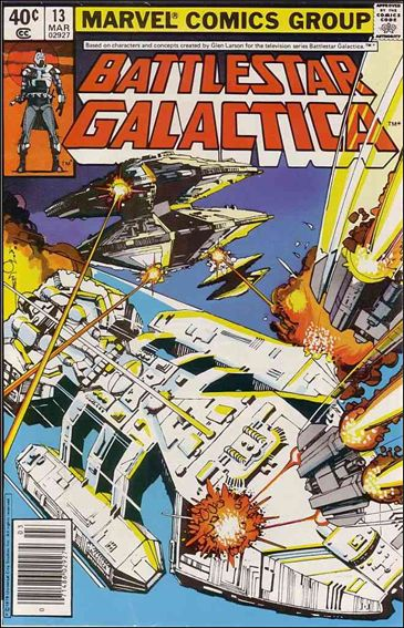 Battlestar Galactica (1979) 13-A by Marvel