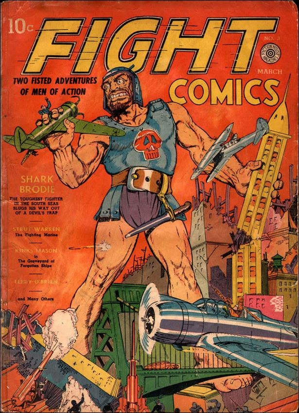 Fight Comics 3-A by Fiction House Magazines