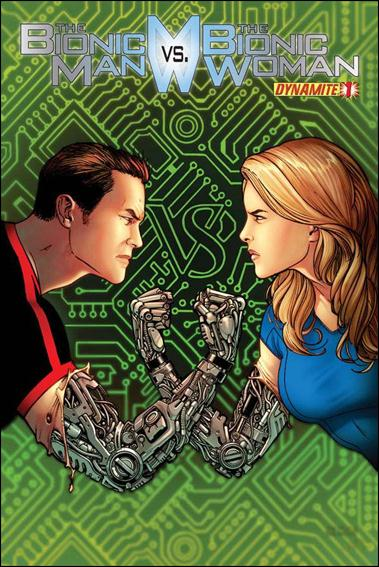 Bionic Man vs the Bionic Woman 1-B by Dynamite Entertainment