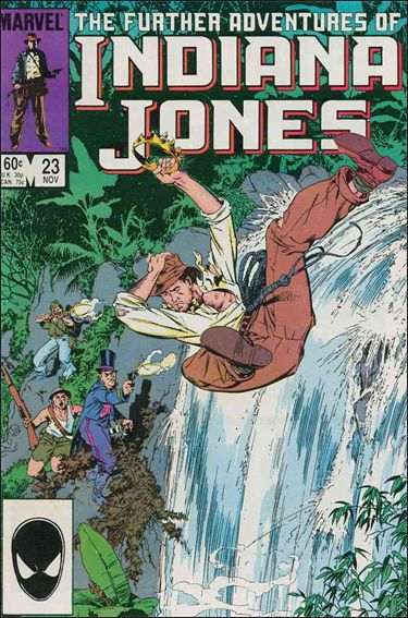 Further Adventures of Indiana Jones 23-A by Marvel
