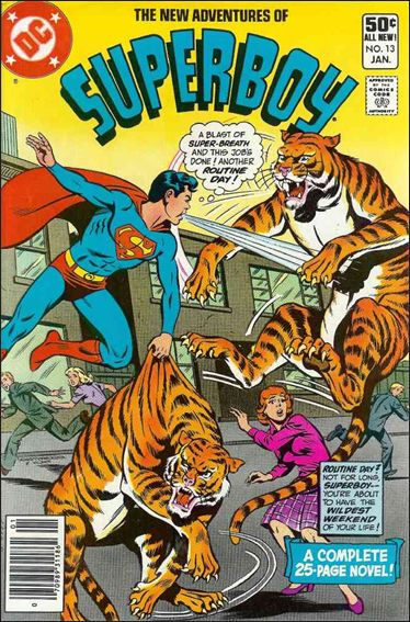 New Adventures of Superboy 13-A by DC