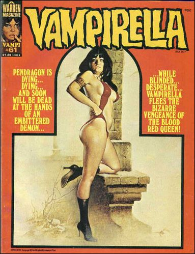 Vampirella 61-A by Warren