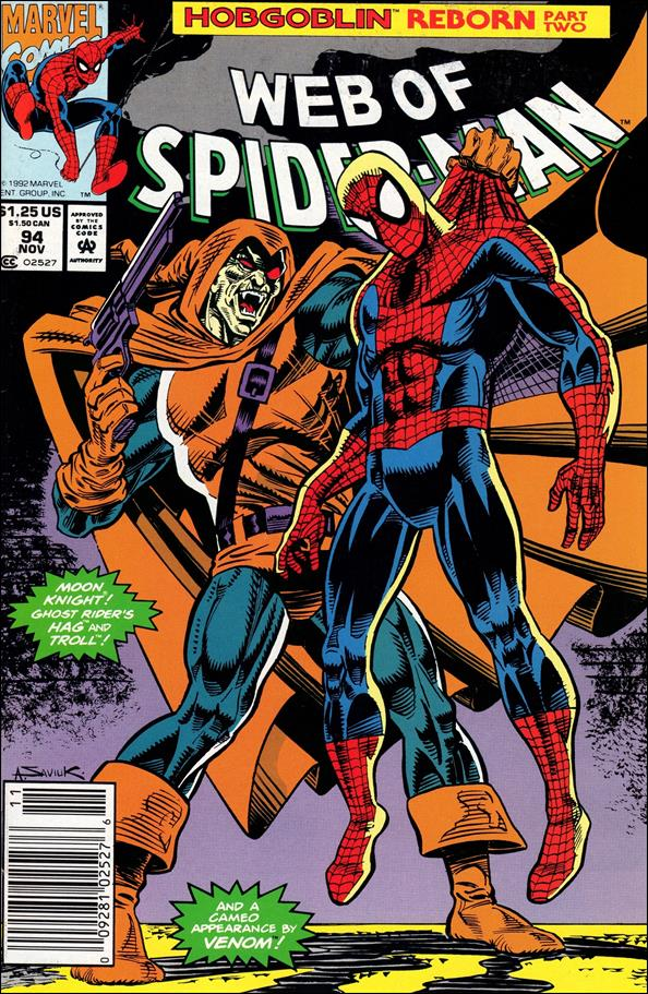 Web of Spider-Man (1985) 94-A by Marvel