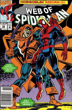 Web of Spider-Man (1985) 94-A