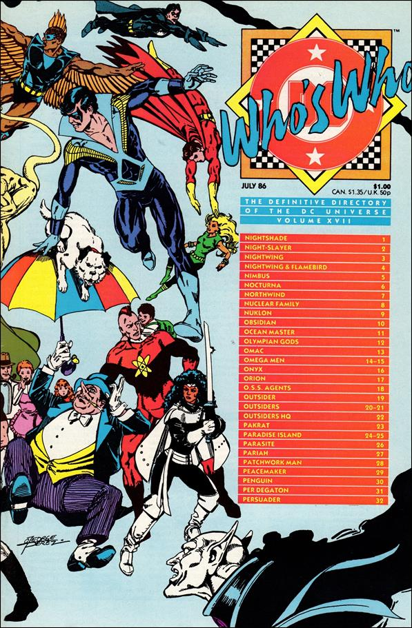 Who's Who: The Definitive Directory of the DC Universe 17-A by DC