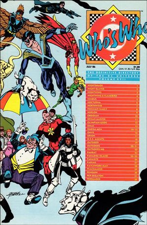 Who's Who: The Definitive Directory of the DC Universe 17-A