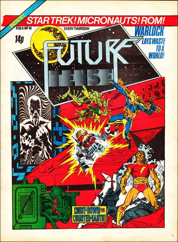 Future Tense (UK) 14-A by Marvel UK