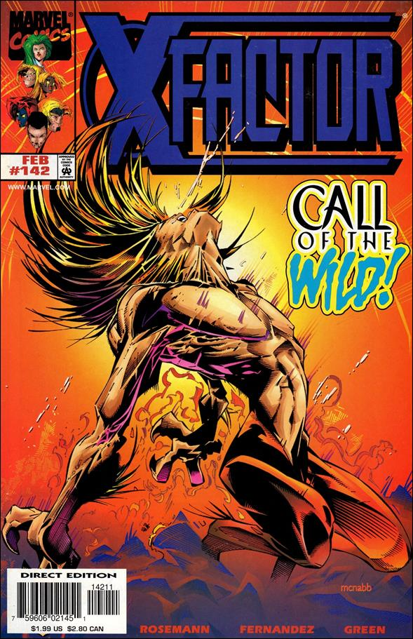X-Factor (1986) 142-A by Marvel