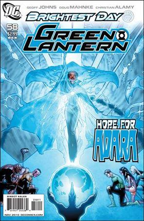 Green Lantern (2005) 58-A