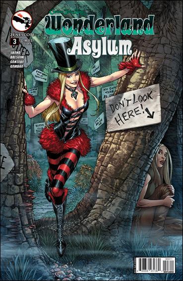 Grimm Fairy Tales Presents Wonderland: Asylum 3-A by Zenescope Entertainment